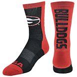 Men's Georgia Bulldogs Loud & Proud Crew Socks