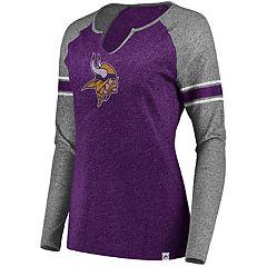 Plus Size Minnesota Vikings Varsity Tee