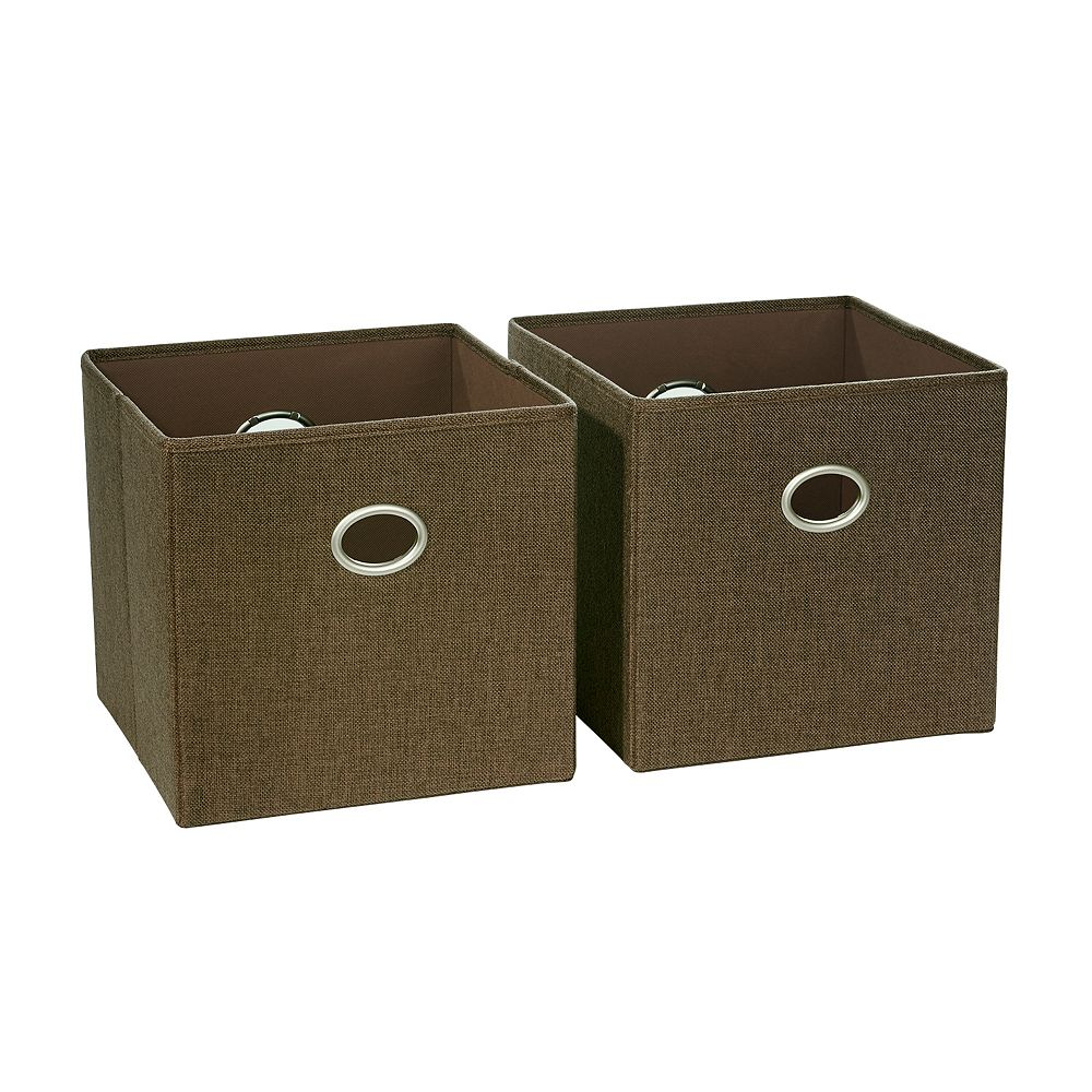 Riverridge Home Folding Storage Bin (Set of 2)