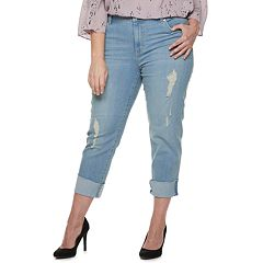 Plus Size Jennifer Lopez Boyfriend Jean