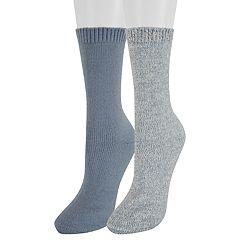 Women's SONOMA Goods for Life™ 2-Pack Lurex Marled Crew Socks