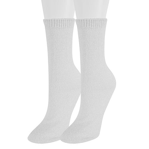 Women's SONOMA Goods for Life™ 2-Pack Lurex Marled Crew Socks