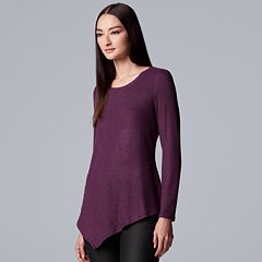 Women's Simply Vera Vera Wang Asymmetrical Top