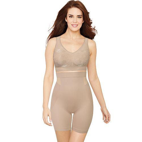 Women's Bali Customized Comfort High Waist Thigh Slimmer DF0047