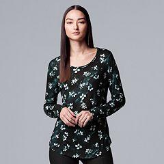 Women's Simply Vera Vera Wang Print Tee