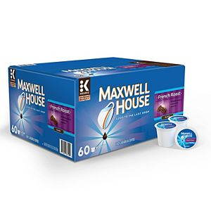 Maxwell House French Roast Coffee, Keurig® K-Cup® Pods, 60 Count
