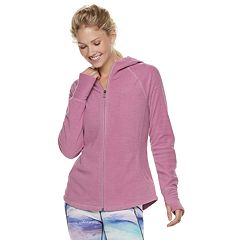 Women's Tek Gear® Microfleece Thumb Hole Jacket
