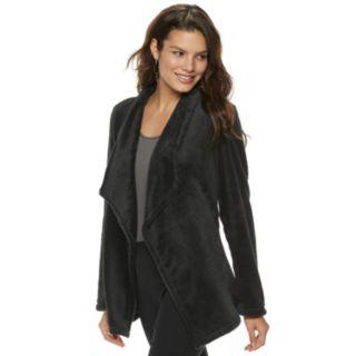Women's Apt. 9® Plush Faux-Fur Cardigan