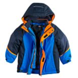 Boys 4-7 ZeroXposur 3-in-1 Archie System Heavyweight Hooded Jacket