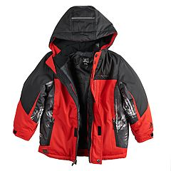 Boys 4-7 ZeroXposur 3-in-1 Storm System Heavyweight Hooded Jacket