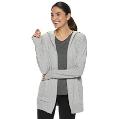 Women's Tek Gear® Hooded Wrap Cardigan