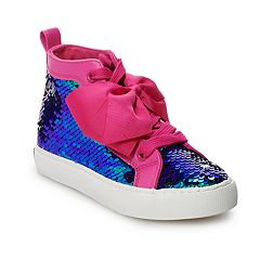 JoJo Siwa Mermaid Girls' High Top Shoes