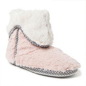 Women's Dearfoams Fold-Down Boot Slippers