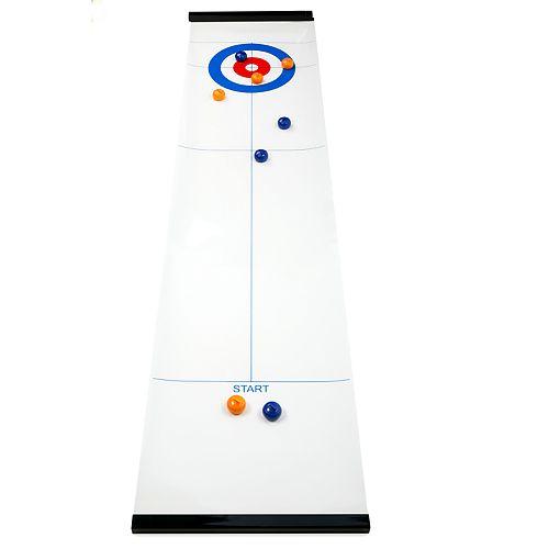 Kikkerland Tabletop Air Curling Game