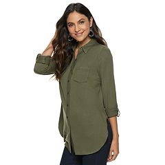 Women's Apt. 9® Vented Tunic Shirt