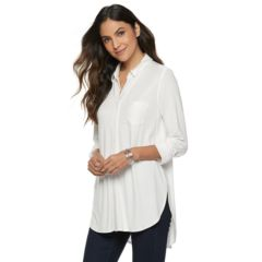 Womens Apt  Vented Tunic Shirt