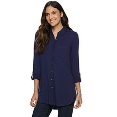 7ee50ac228 Women s Apt. 9® Vented Tunic Shirt