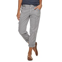 Petite SONOMA Goods for Life™ Ultra Comfort Waistband Utility Capris
