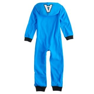 Boys 6-12 Captain America Costume Union Suit