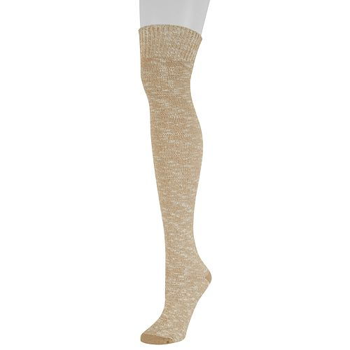 Women's SONOMA Goods for Life™ Marled Ottoman Texture Over-the-Knee Socks
