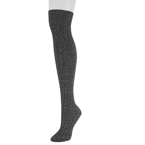Women's SONOMA Goods for Life™ Ribbed Over-the-Knee Socks