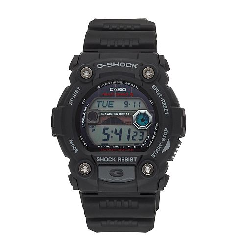 47643f1e2 Casio Men's G-Shock Tough Solar Atomic Digital Chronograph Watch ...
