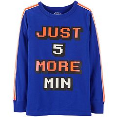Boys 4-12 OshKosh B'gosh® 'Just 5 More Min' Glow in the Dark Active Top