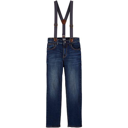 Boys 4-12 OshKosh B'gosh® Suspender Jeans