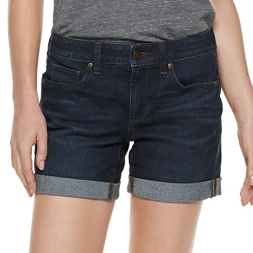 Women's SONOMA Goods for Life® Cuffed Jean Shorts
