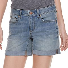Women's SONOMA Goods for Life™ Cuffed Jean Shorts