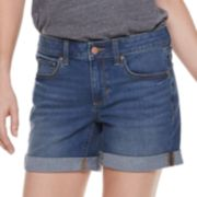 Women's SONOMA Goods for Life? Cuffed Jean Shorts
