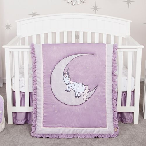 Trend Lab Baby Unicorn Dreams 3-Piece Crib Bedding Set