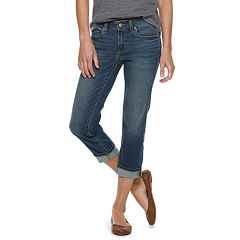 Women's SONOMA Goods for Life™ Cuffed Jean Capris