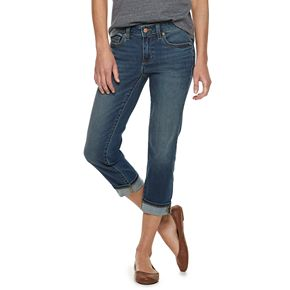 Women's SONOMA Goods for Life? Cuffed Jean Capris