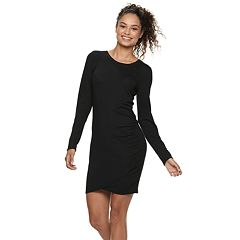Juniors' Love, Fire Ruched Bodycon Dress