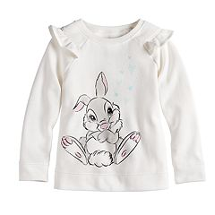 Disney's Bambi Thumper Toddler Girl Softest Fleece Sweatshirt by Jumping Beans®