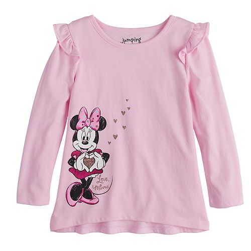 "Disney's Minnie Mouse Toddler Girl ""Love Minnie"" Graphic Tee by Jumping Beans®"