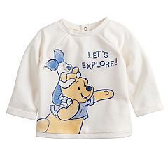 Disney's Winnie the Pooh Baby Boy Pooh & Piglet French Terry Top by Jumping Beans®