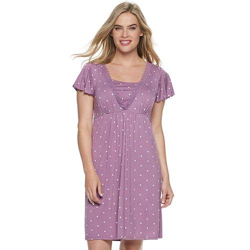 Maternity a:glow Nursing Nightgown