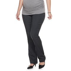 Maternity a:glow Full Belly Panel Bootcut Pants