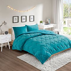 Intelligent Design Kai Reversible Plush Comforter Set