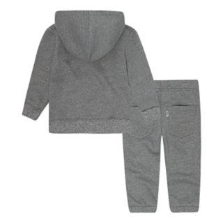 Baby Boy Levi's Fleece Zip Hoodie & Jogger Pants