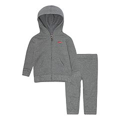 Baby Boy Levi's Fleece Zip Hoodie & Jogger Pants