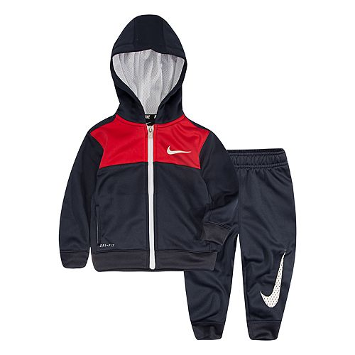 Baby Boy Nike 2-Piece Hoodie & Pants Set