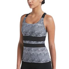 Women's Nike Radical Edge V-Back Tankini Top