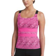 Women's Nike Radical Edge V-Back Tankini Top