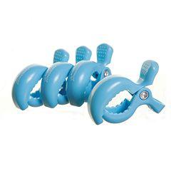 Dreambaby 4 Pack Strollerbuddy Stroller Clips