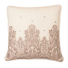 Beautyrest Montreal Damask Embroidered Throw Pillow