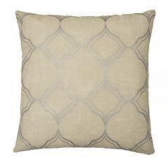 Beautyrest Pemberly Woven Ogee Throw Pillow