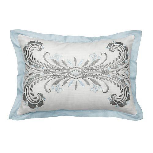 Beautyrest Arlee Embroidered Oblong Throw Pillow